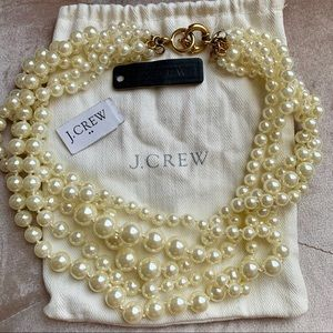 J. Crew Pearl Choker Necklace